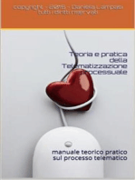 Teoria e Pratica della Telematizzazione Processuale I