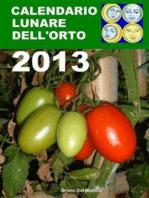 Calendario lunare dell'orto 2013