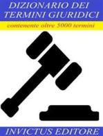 Dizionario dei termini giuridici