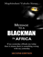 Message to a Blackman in Africa