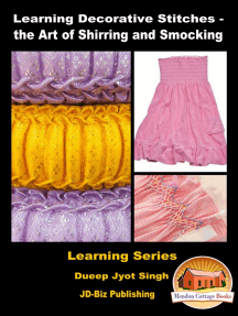 Learning Decorative Stitches: the Art of Shirring and Smocking
