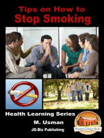 Tips on How to Stop Smoking