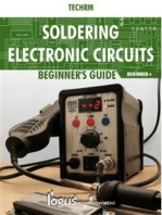 Soldering electronic circuits: Beginner's guide