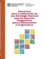 Directrices para la elaboración de una Estrategia Nacional para los Recursos Fitogenéticos para la Alimentación y la Agricultura