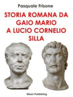 Storia romana da Gaio Mario a Lucio Cornelio Silla