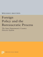 Foreign Policy and the Bureaucratic Process