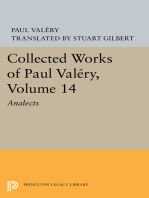Collected Works of Paul Valery, Volume 14