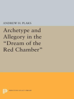 Archetype and Allegory in the Dream of the Red Chamber