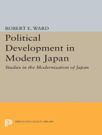Political Development in Modern Japan