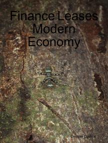 Finance Leases Modern Economy