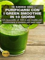 Purificarsi con i green smoothie in 10 giorni