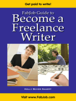 FabJob Guide to Become a Freelance Writer
