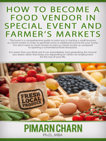 How to Become a Food Vendor in Special Event and Farmer's Markets