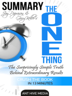 Gary Keller and Jay Papasan's The One Thing