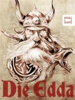 Die Edda - Göttersagen, Heldenlieder und die Erzählungen der Skalda
