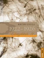 Elbeszélések 1922-1926