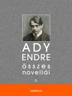 Ady Endre összes novellái III. kötet