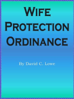 Wife Protection Ordinance