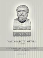 Platón válogatott művei II. kötet