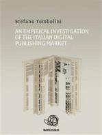 An empirical investigation of the Italian digital publishing market