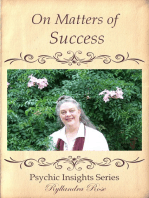 Psychic Insights on Matters of Success