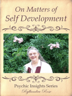 Psychic Insights On Matters of Self Development