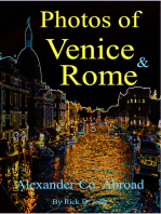 Photos of Venice and Rome