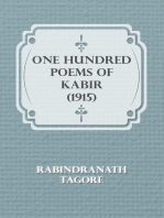 One Hundred Poems of Kabir (1915)