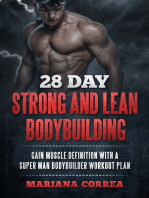 28 Day Strong and Lean Bodybuilding