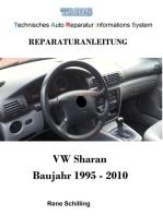Taris Reparaturanleitung Sharan: Technisches Auto Reparatur Informations System