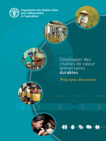 Développer des chaînes de valeur alimentaires durables: Principes directeurs