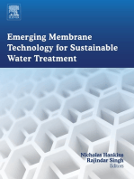 Emerging Membrane Technology for Sustainable Water Treatment