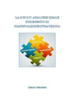 La swot analysis quale strumento di pianificazione strategica