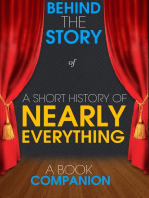 A Short History of Nearly Everything - Behind the Story
