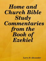Home and Church Bible Study Commentaries from the Book of Ezekiel
