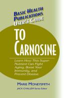 User's Guide to Carnosine
