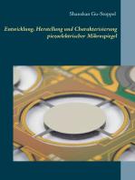Entwicklung, Herstellung und Charakterisierung piezoelektrischer Mikrospiegel