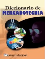 Diccionario de Mercadotecnia