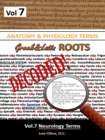 Anatomy & Physiology Terms Greek&Latin ROOTS DECODED! Vol.7: Neurology Terms