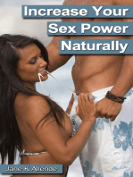 Increase Your Sex Power Naturally