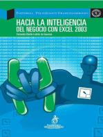 Hacia la inteligencia del negocio con Excel 2003