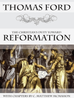 The Christian's Duty Toward Reformation