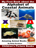 My First Book about the Alphabet of Coastal Animals