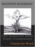 The Inductive Bible Study Companion; Unlock the Word