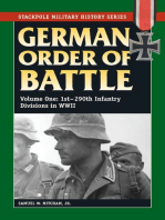 German Order of Battle