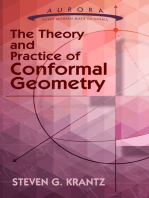 The Theory and Practice of Conformal Geometry