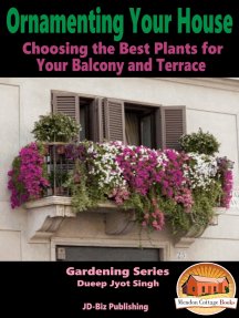 Ornamenting Your House: Choosing the Best Plants for Your Balcony and Terrace
