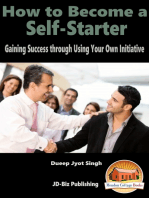 How to Become a Self-Starter