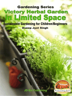Victory Herbal Garden in Your Limited Space