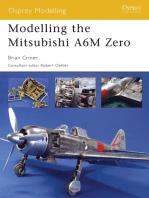 Modelling the Mitsubishi A6M Zero